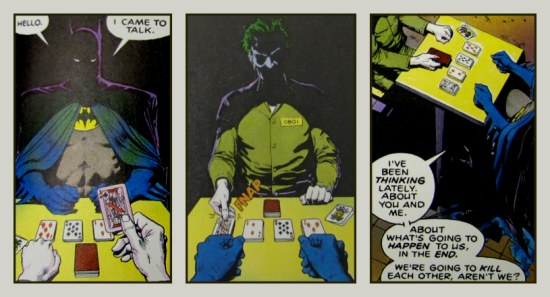 Panels from *The Killing Joke*