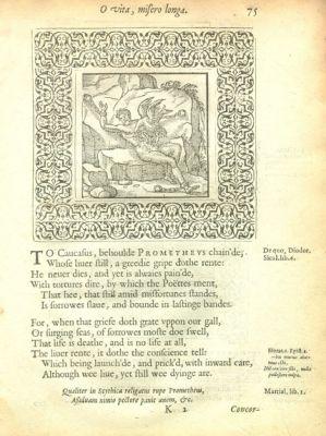 A choice of emblemes (1586)